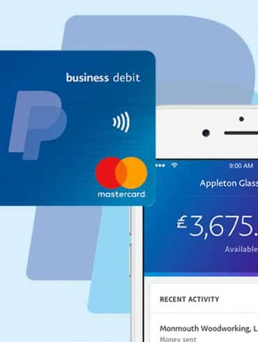 PayPal Announce Business Debit Card